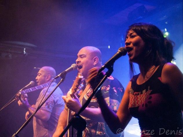 Le groupe Xamanek au Jam in Jette